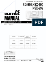 NSX 990 Service Manual