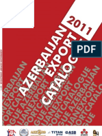 Azerbaijan Export Catalogue 2011