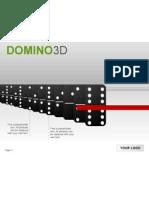 KP-C0006 3D Dominosteine 2007