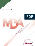 MBA Tiempo Completo 2011-II