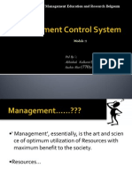 Management Control Systems Performance Measurement Evaluation And Incentives Pdf