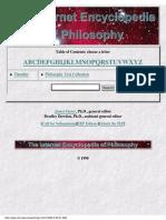 The Internet Encyclopedia of Philosophy