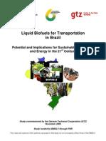 En Biofuels for Transportation in Brazil 2005