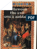Halloween the Evil Ones Sabbath