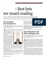 Nick Ragone book review in Directors and Boards magazine