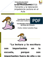PRES Manual de Proced. Fomento y Valorac. Comp. Lect.