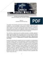 Church WithOut Walls Bylaws