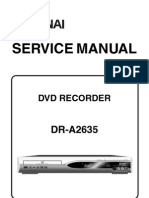 DR-A2635 (E68C1ED) Service Manual