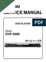 DVP-5000 Service Manual