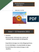 BioGeoQuimica_2010_2011_Aula_N1