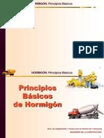 fco 01 HORMIGON   Pricipios Básicos