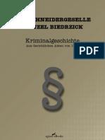 Der Schneidergeselle Wenzel Biedrzick