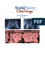 World Savvy Challenge Program Handbook 2011-12