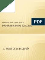 PROGRAMA ANUAL ECOLOGA