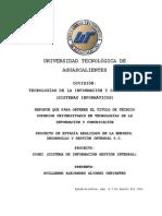 Desarrollo Implementacion E Innovacion de Herramientas Tecnologicas