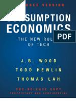 Consumption Economics Abridged