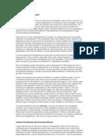 Culture & Development by Amartya Sen
