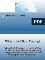 BACKFLUSH COSING