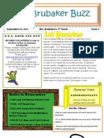 4th Grade Newsletter 93011