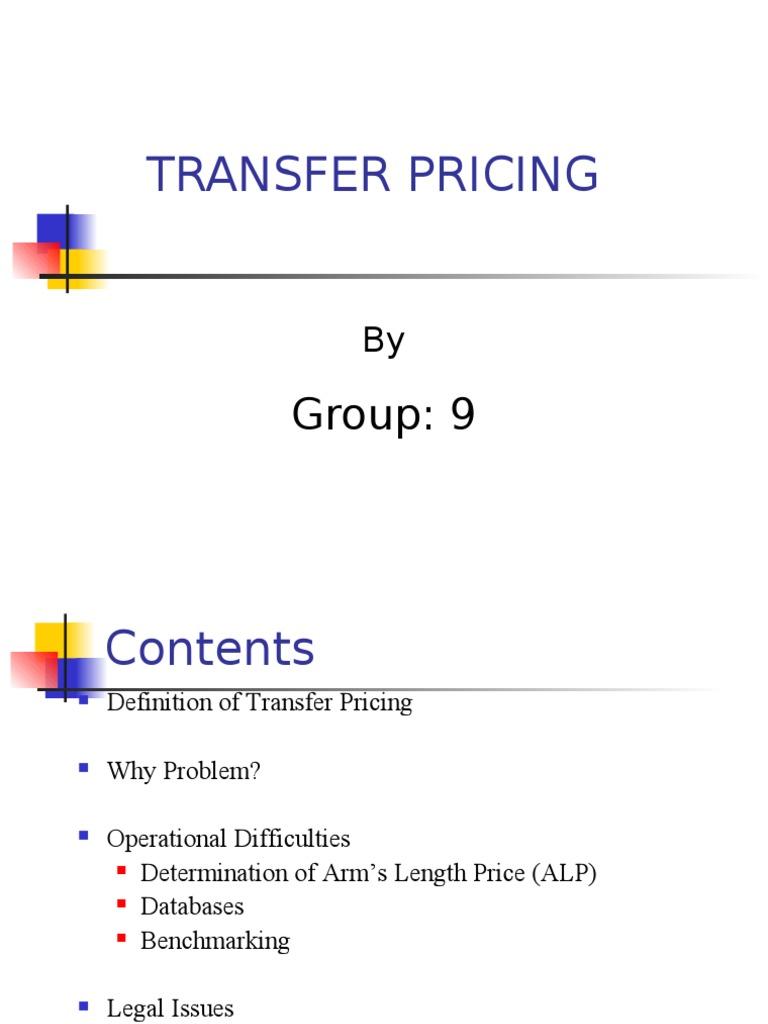 transfer pricing | economies | business economics