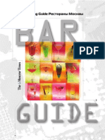 Moscow Bar Guide 2010