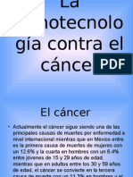 La nanotecnología contra el cáncer1