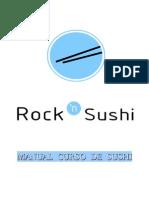 Manual Curso de Sushi