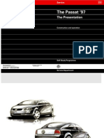 VW Passat B5 - Construction & Operation [SERVICE]