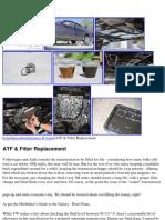 VW Passat B5 ATF Fluid & Filter Change