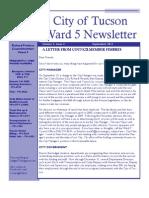 Sept 2011 Newsletter