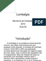 Monitoria Ortopedia