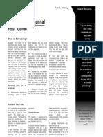 Stress Diary Guide 17. Reframing