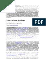 SIGNIFICADO DE DIALÈCTICA