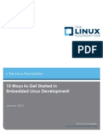 10 Ways to Get Started in Embeded Linux Development