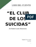 ANÁLISIS DEL CUENTO el club del suicidio
