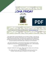 Aloha Friday 06032005
