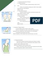 Exercícios de reabilitação para a distensão da musculatura do pescoço