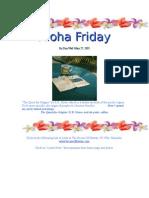 Aloha Friday 52705