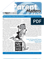 Parent Matters April 2011