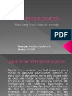 Test Psicologicos