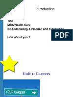 Unit 1 Careers