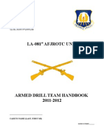 Armed Drill Team Handbook