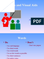 Session E - Words and Visual Aids