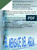 YTUQUESABES Mensaje Del Agua