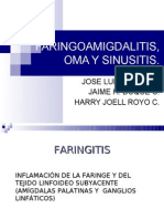 Faring It Is Otitis y Sinusitis