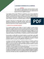 Analisis Actual Al Entorno Economico