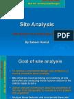 Site Analysis Example