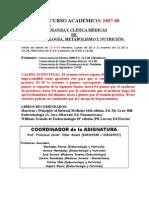 Programa de PM-Endocrinología 2007-08 Unificado Con Qx