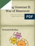 Perang Generasi II: War of Maneuver