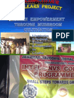 Mushroom Cultivation Programme PPT